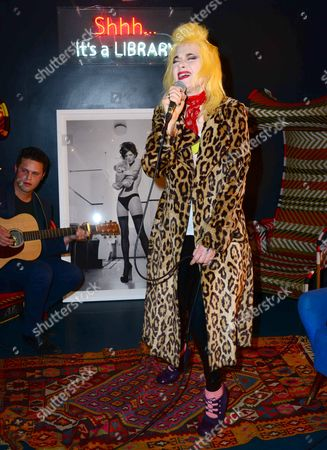 Stock Picture of Pam Hogg, with Kate Garner photo of Kate Moss, estimate £2,500-£3,000