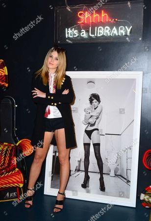 Kara Rose Marshall, with Kate Garner photo of Kate Moss, estimate £2,500-£3,000