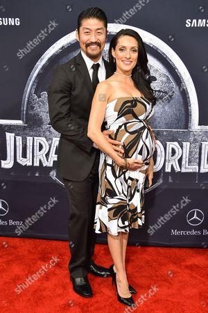 Brian Tee and Mirelly Taylor