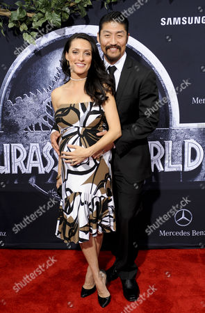 Mirelly Taylor and Brian Tee