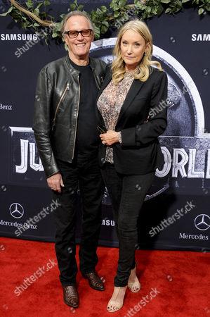 Peter Fonda & wife Parky DeVogelaere