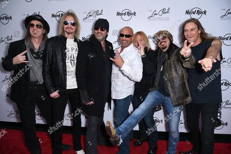 Stock Photo of Barry Barnes, Stoney Kurtis, Danny Koker, John Zito, Paul DiSibio and Tommy Paris of Count's 77