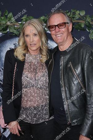 Peter Fonda and wife Parky DeVogelaere
