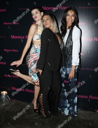 Isabeli Fontana, Valesca Popozuda and Lea T