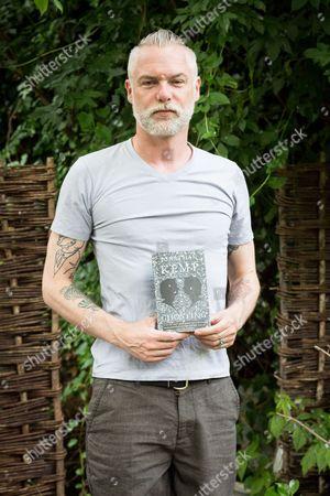 Editorial photo of Jonathan Kemp 'Ghosting' book photocall, London, Britain - 08 Jun 2015