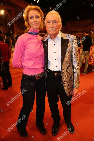 James Last and wife Christine Last