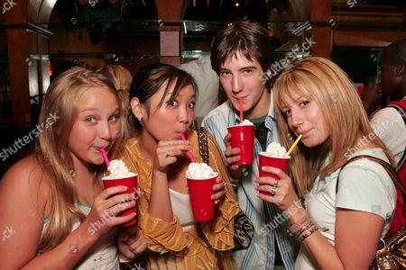 Amy Bruckner, Brenda Song, Andrew James Allen and Ashley Tisdale