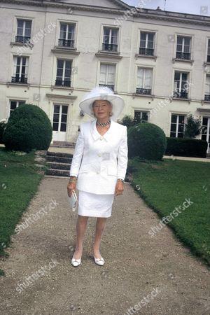 Madame Carven in Chantilly for Diane Hermes Award, Paris, France