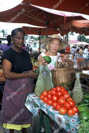 Madame Carven in Antilles, Guadaloupe, France