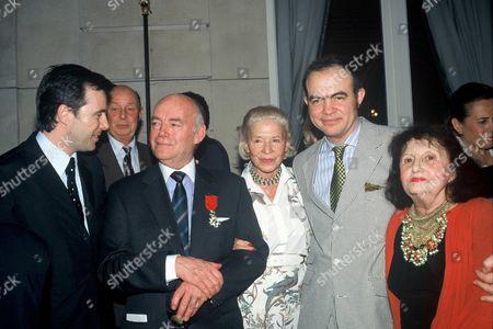 Olivier Lapidus, Francois Lesage, Madame Carven and Christian Lacroix