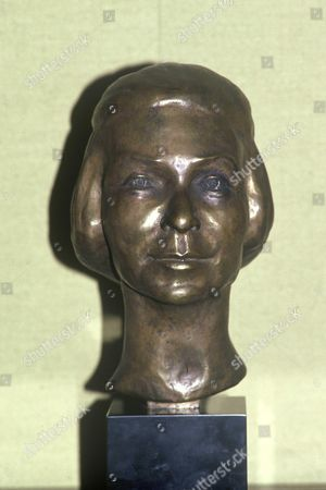 Madame Carven bust at her home, Avenue Foch, Paris, France