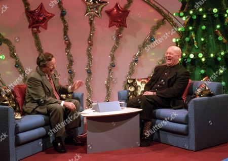 Richard Whiteley and Brian Glover