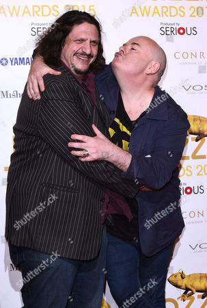 Jay Rayner and Ian Shaw