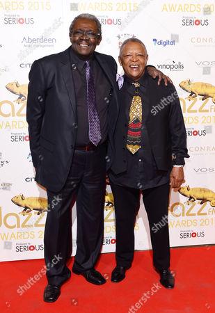 Stock Image of Larry Willis and Hugh Masekela