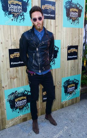Editorial image of Kopparberg Urban Forest launch party, London, Britain - 10 Jun 2015