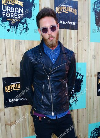 Editorial photo of Kopparberg Urban Forest launch party, London, Britain - 10 Jun 2015