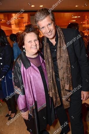 Suzy Menkes and Tom Meggle