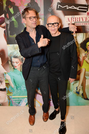 Stock Image of Miles Aldridge and James Gager