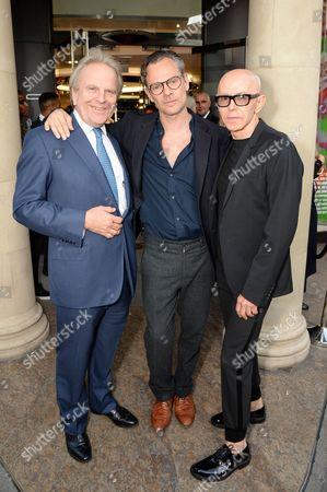 Mark Fenwick, Miles Aldridge and James Gager