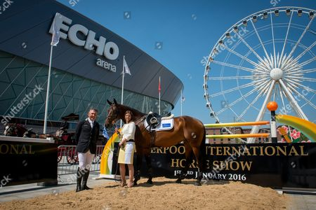 Editorial photo of Liverpool International Horse Show Launch, Echo Arena - 11 June 2015