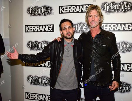 Editorial picture of ++The Relentless Energy Drink Kerrang! Awards, London, Britain - 11 Jun 2015