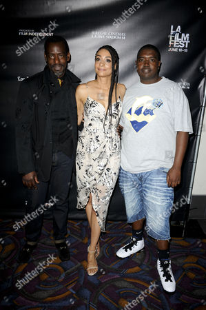 Ron Finley, Delila Vallot and Mychael 'Spicey' Evans