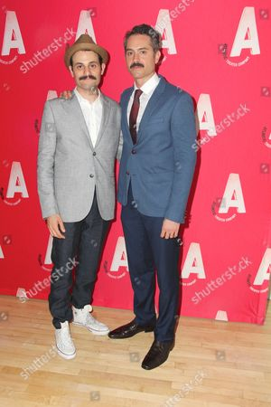 Arian Moayed, Omar Metwally