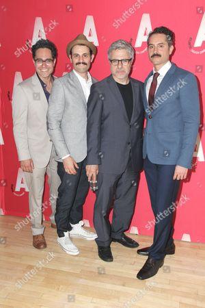 Stock Image of Rajiv Joseph, Aria Moayed, Neil Pepe, Omar Metwally