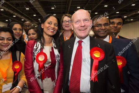 John Biggs and his supporters celebrate