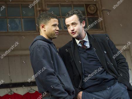 Calvin Demba as Jordan, Daniel Mays as Kidd,