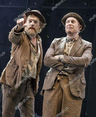 Hugo Weaving as Vladimir, Richard Roxburgh as Estragon