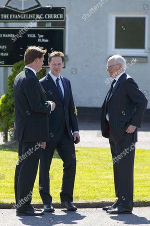 Danny Alexander and Nick Clegg