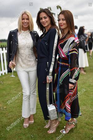 Caroline Stanbury, Saskia Boxford and Juliet Angus