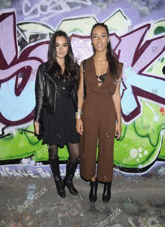 Solange Smith and Yasmin Haas-Sinclair
