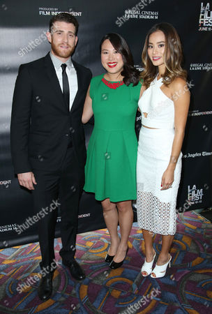 Stock Photo of Bryan Greenberg, Emily Ting and Jamie Chung