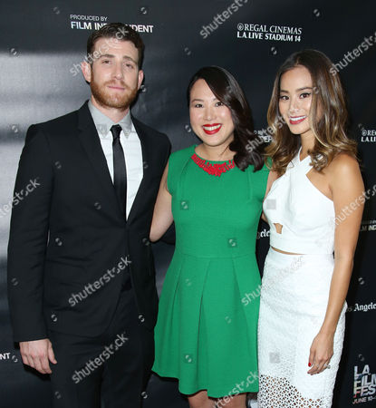 Stock Picture of Bryan Greenberg, Emily Ting and Jamie Chung