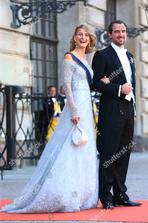 Prince Nikolaos of Greece and Tatiana Blatnik