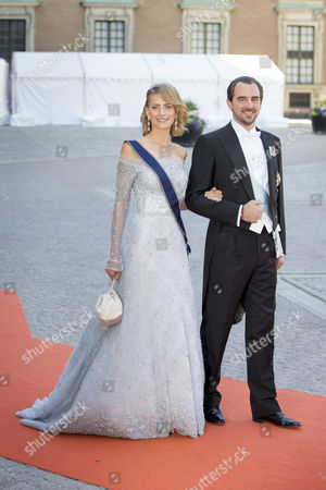 Prince Nikolaos and Princess Tatiana of Greence
