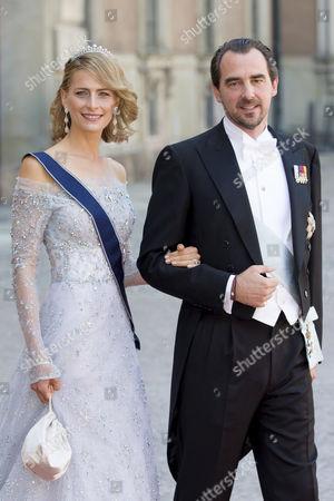 Prince Nikolaos of Greece and Princess Tatiana