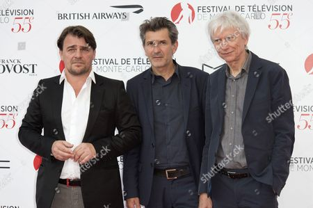 Thierry Godard, Fred Bianconi and Philippe Duclos
