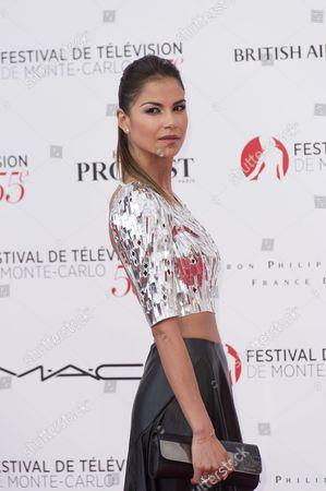 Editorial picture of The 55th Monte Carlo TV Festival, Opening Ceremony, Monaco - 13 Jun 2015