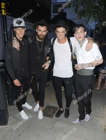 Jack Padgett, Chris Perceval,Christian Arno and Alexander James