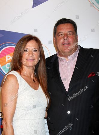 Stock Picture of Steve Schirripa, Laura Schirripa