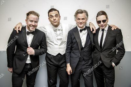 Karl Brazil Robbie Williams Guy Chambers Gary Nuttall