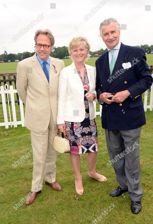 Lord March, Lady March and Arnaud Bamberger
