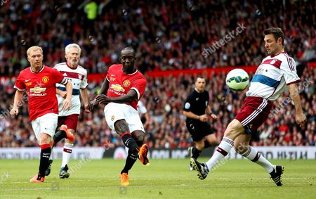 Editorial picture of Manchester United Legends v Bayern Munich Legends - Exhibition Match, Old Trafford, Manchester, Britain - 14 Jun 2015