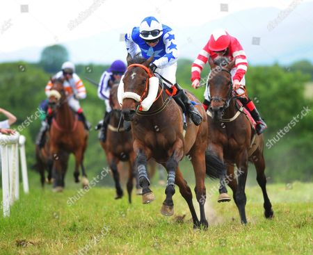 Castleisland (H&P) ATHEA JADE & Mikey Mulvihill win division 1 of the Tom Fleming Plate race.