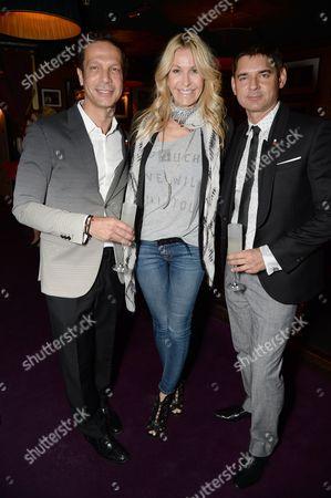 Editorial photo of Tateossian and Elton John AIDS Foundation: PILLXXV, Ronnie Scott's, London, Britain - 14 Jun 2015