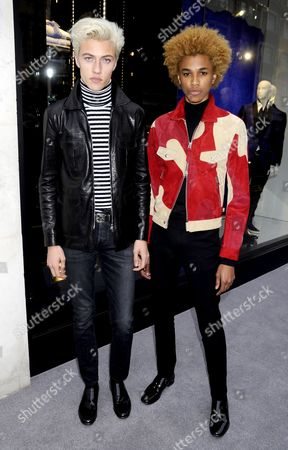 Stock Picture of Lucky Blue Smith and Michael Lockley