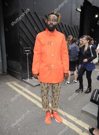 Editorial image of Maharishi fashion show, London Collections: Men, Spring Summer 2016, Britain - 14 Jun 2015
